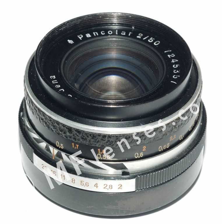 Carl Zeiss Jena Pancolar 50mm f/2 M42 leatherette-1228