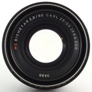 2.8/80mm MC Biometar Carl Zeiss Jena P6-1862