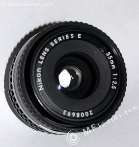 Nikon Series E 35mm f2.5 AIS-3592