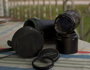 Super Takumar 150mm f4-4552