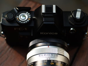 1.8/40mm Hexanon Konica AR-5281