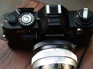 1.8/40mm Hexanon Konica AR-5283