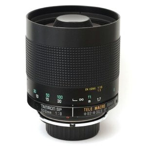 Tamron SP 500mm f/8 55BB mirror lens-812