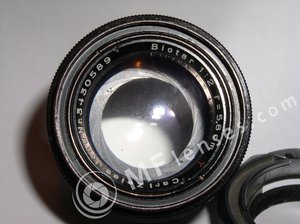 Carl Zeiss Jena Biotar 58mm f/2 black Exa-854