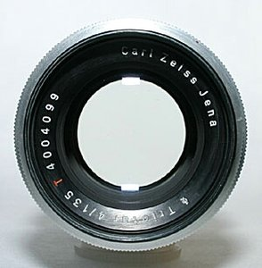 Carl Zeiss Jena Triotar 135mm f/4-893