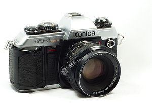 Konica FT-1 Konica Hexanon 21mm f4 EE-7237