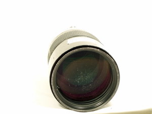 Nikon 180mm f2.8 ED badly scratched front element-8469