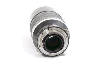Nikon 180mm f2.8 ED badly scratched front element-8470